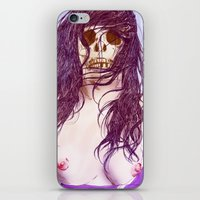 Give us a kiss (color) iPhone & iPod Skin