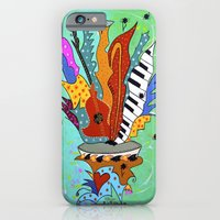 Blooming Notes V. iPhone 6 Slim Case