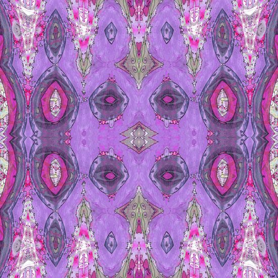 Fancy Lavender Art Print