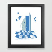 Time is Running Out! Framed Art Print