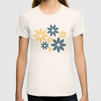 Flora Womens Fitted Tee Natural SMALL