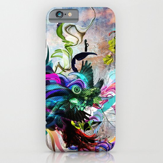 Streaming Eyes iPhone & iPod Case