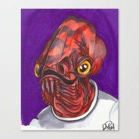 Admiral Trap Canvas Print