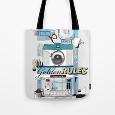 Ten Golden Rules Tote Bag