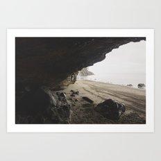 Ocean Cave Art Print