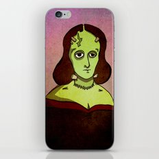 Prophets of Fiction - Mary Shelley /Frankenstein iPhone & iPod Skin