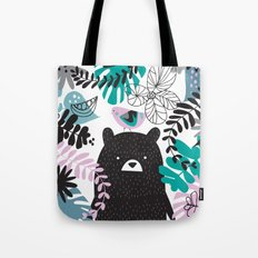 Bear adventure Tote Bag