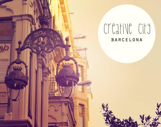 Barcelona Creative City Art Print