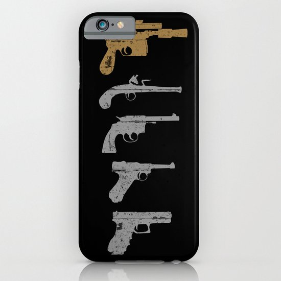 A long time ago with a blaster far, far away... iPhone & iPod Case