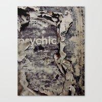 Peeling: Psychic Canvas Print