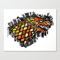 The North Remembers Canvas Print