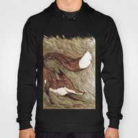 La Ruse du renard (The Sneaky Red Fox) Hoody