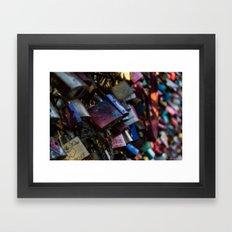 Lovelocks Framed Art Print