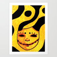 Smile For Me Art Print