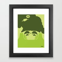 WTF? Super! Framed Art Print