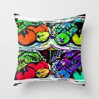 Remember to Eat Your Veggies Throw Pillow