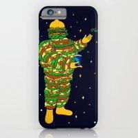 iPhone & iPod Case featuring Michelin Hamburger by kzeng Jiang