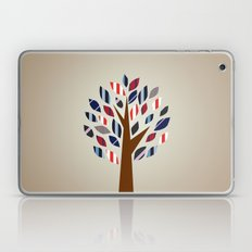 Striped Tree - Digital Work Laptop & iPad Skin