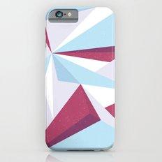 Maroon & sky  Slim Case iPhone 6s