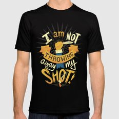 My Shot SMALL Mens Fitted Tee Black
