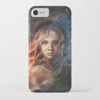 lady iPhone & iPod Cases featuring Do You Hear the People Sing? by Alice X. Zhang