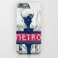 Paris Metro Sign iPhone 6 Slim Case