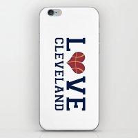 Love Cavs iPhone & iPod Skin