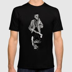 Gra Smierci SMALL Black Mens Fitted Tee