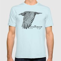 Gallinazo Mens Fitted Tee Light Blue SMALL