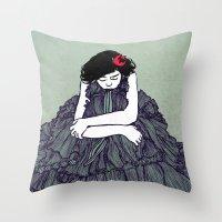 Ink 001 Throw Pillow
