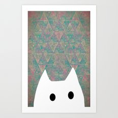 Cat-188 Art Print