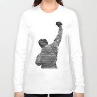 How Hard You Get Hit - Rocky Balboa Long Sleeve T-shirt