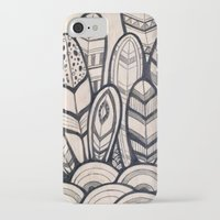 feathers iPhone & iPod Cases featuring Feathers by jewelwing