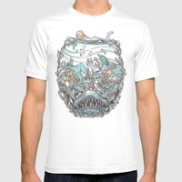 What Lurks Beneath Mens Fitted Tee White SMALL