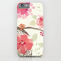 iPhone & iPod Case featuring Flora Queen by petite stitches