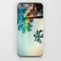iPhone & iPod Case featuring Palm trees of Barcelona by 2b2dornot2b
