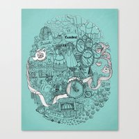 Victorian London Canvas Print