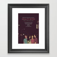 Reality Bites Framed Art Print