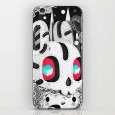 Forestyne (Black & white) iPhone & iPod Skin