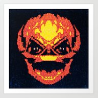 Art Print featuring Trick Or Treat Sam by Fimbis