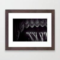 Stage Lights Framed Art Print