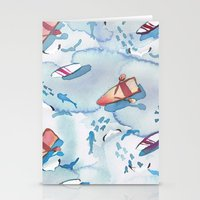 Shallow Water Stationery Cards
