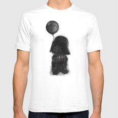 darth vader & death star! Mens Fitted Tee White SMALL
