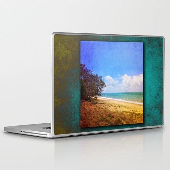 Beautiful Day by the Sea Laptop & iPad Skin