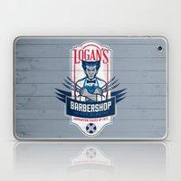 Logan's Barbershop Laptop & iPad Skin