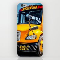 School Bus iPhone & iPod Skin