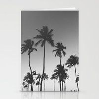 Palm Trees II Stationery Cards