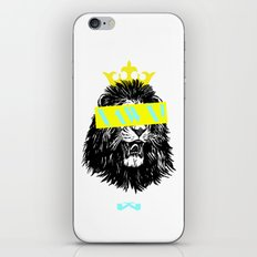 King of The Jungle. iPhone & iPod Skin