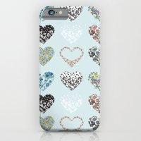 Vintage Hearts  iPhone 6 Slim Case