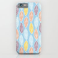 iPhone Cases featuring leaves by Wee Jock